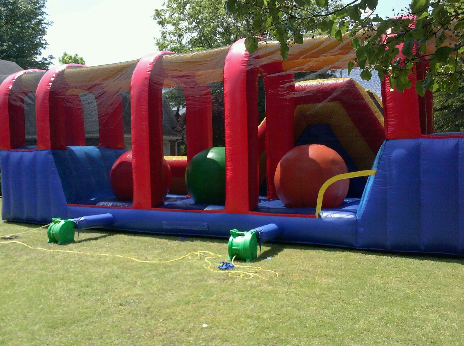 38' Wipeout Obstacle Course Rentals ...